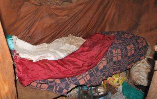 Kigongo's bed